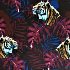 Softshell tigre en la selva burdeos