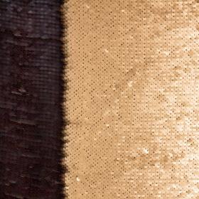 lentejuela reversible negra oro