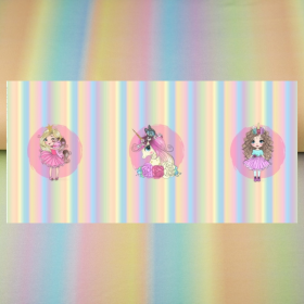 Pannel jersey princesa y unicornio BY Stenzo