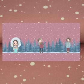 Pannel sudadera niña en la nieve BY Stenzo