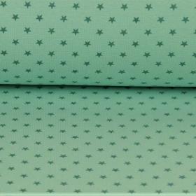 Puño estrella verde fondo verde
