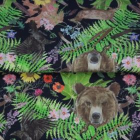 punta de camiseta Stenzo oso en el bosque BY Stenzo