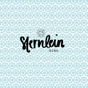 Susalabims Sternlein bleu Jersey By Lillestoff