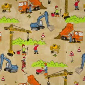 Jersey estampado maquina de construccion