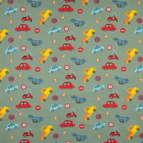 Jersey estampado coches pequeños
