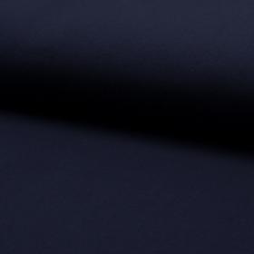 Jersey unicolor azul marino bio gots