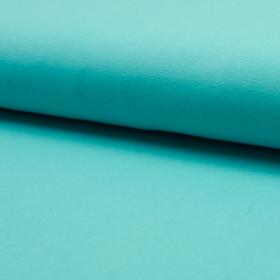 Jersey uni bleu bio gots turquoise