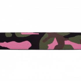 Goma Elástica camuflage rosa