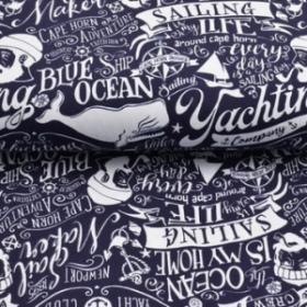 Jersey estampado Océan azul