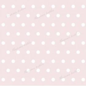 Panneau simili cuir point blanc fond rose