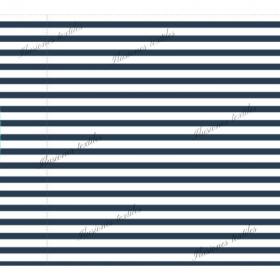 Panel impéméable rayas azul